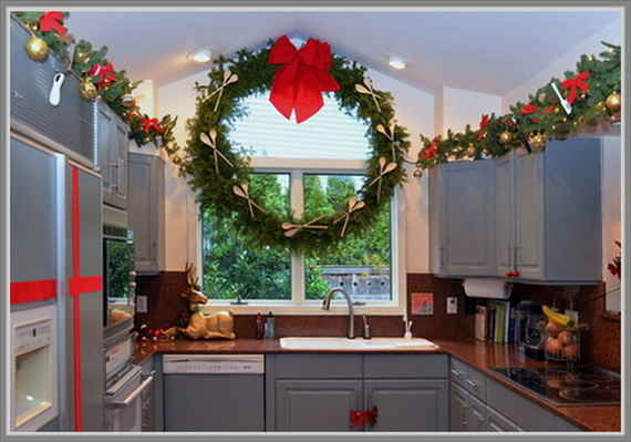 Decorating A Kitchen For Christmas 2017