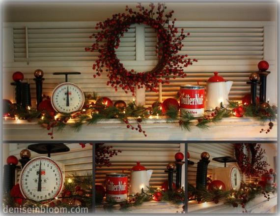 Unique kitchen decorating ideas for christmas - Christmas decorating ideas for the kitchen ...