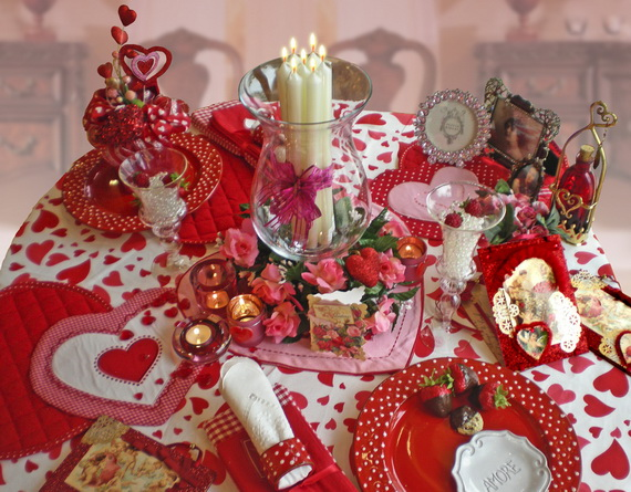 Amazing easy homemade valentine s day centerpieces ideas