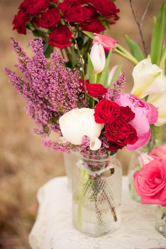 amazing easy homemade valentines day centerpieces ideas _21 - Valentines Day Centerpieces