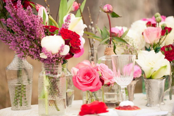 Amazing- &-Easy- Homemade- Valentine's- Day -Centerpieces- Ideas _22