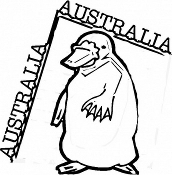 Australia Day Coloring Pages for Kids family holidaynetguide to