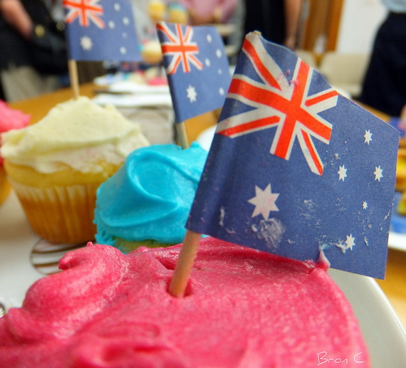 Australia day decorating cupcake ideas family holiday for Australian decoration