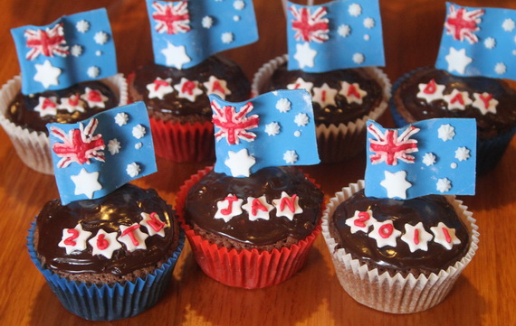 Australia Day Decorating Cupcake Ideas_10