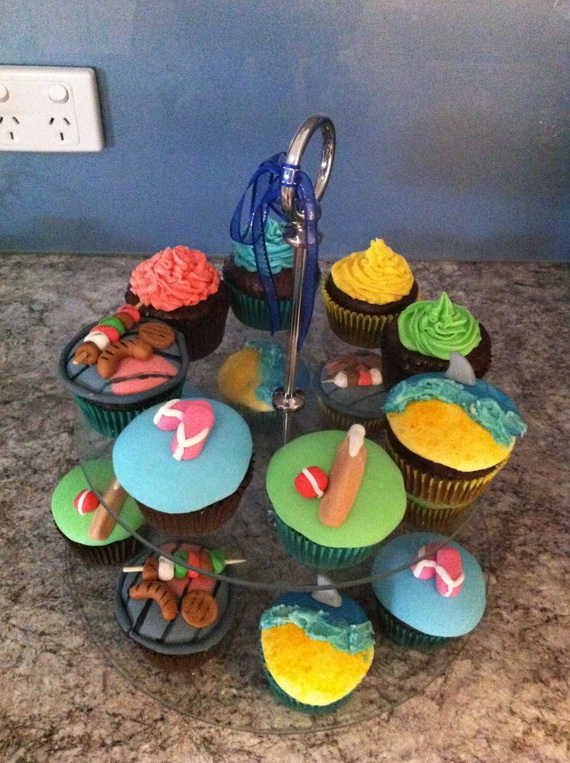 Australia Day Decorating Cupcake Ideas_12