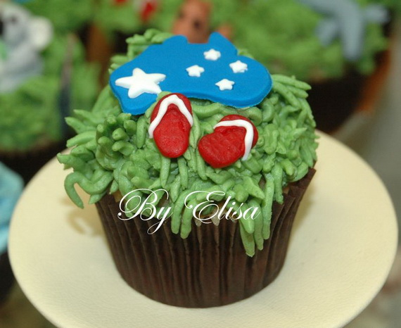 Australia Day Decorating Cupcake Ideas_16