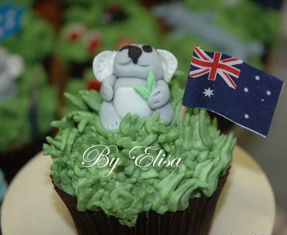Australia Day Decorating Cupcake Ideas_17