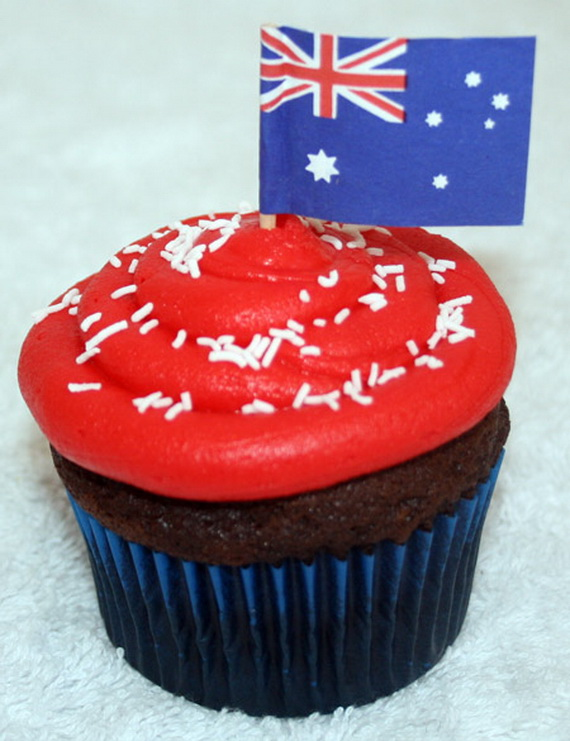 Australia Day Decorating Cupcake Ideas_36