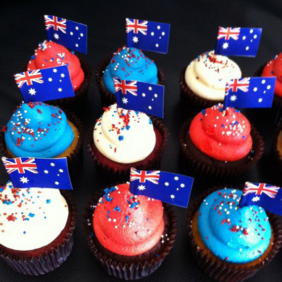 Australia Day Decorating Cupcake Ideas_37