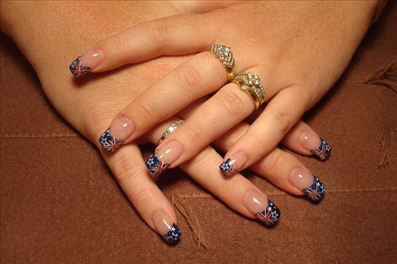 Australia day nail art family holidayguide to family australia day nail art 01 prinsesfo Images
