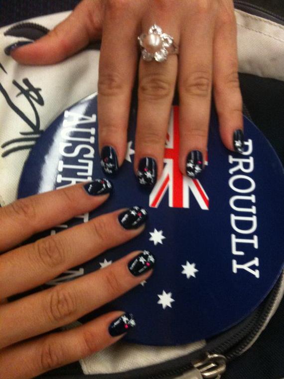 Australia Day Nail Art _23