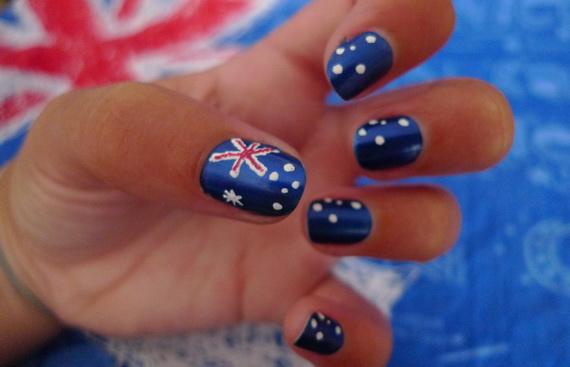 Australia Day Nail Art _25