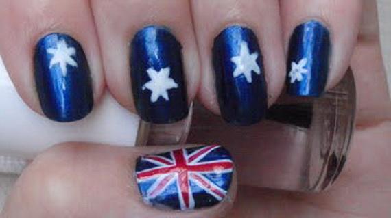 Australia Day Nail Art _41