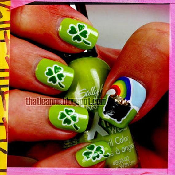 Australia Day Nail Art _49