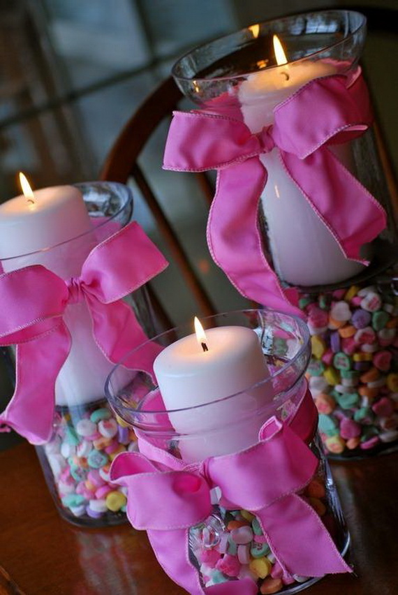 Romantic Decorations beautiful and romantic candle decorations for valentine's day