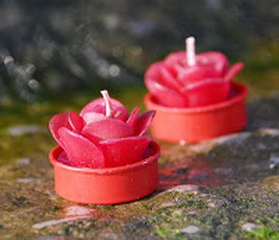Beautiful- and -Romantic- Candle - Decorations- for- Valentine's- Day_22