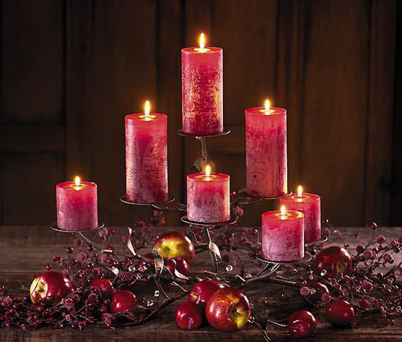 Beautiful- and -Romantic- Candle - Decorations- for- Valentine's- Day_28