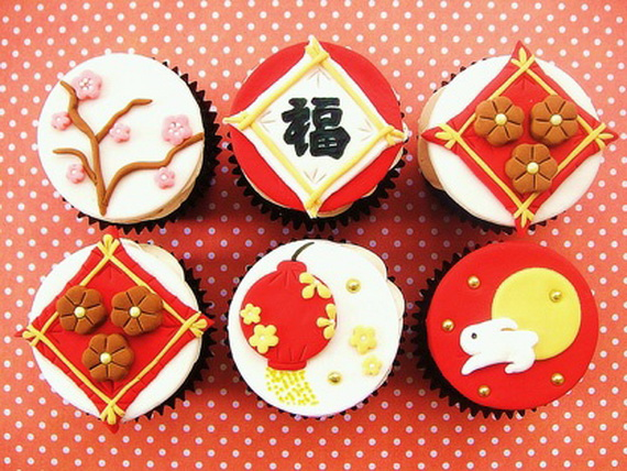 Chinese New Year Cupcake Designs for 2013 _01