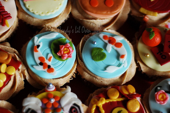 Chinese New Year Cupcake Designs for 2013 _16