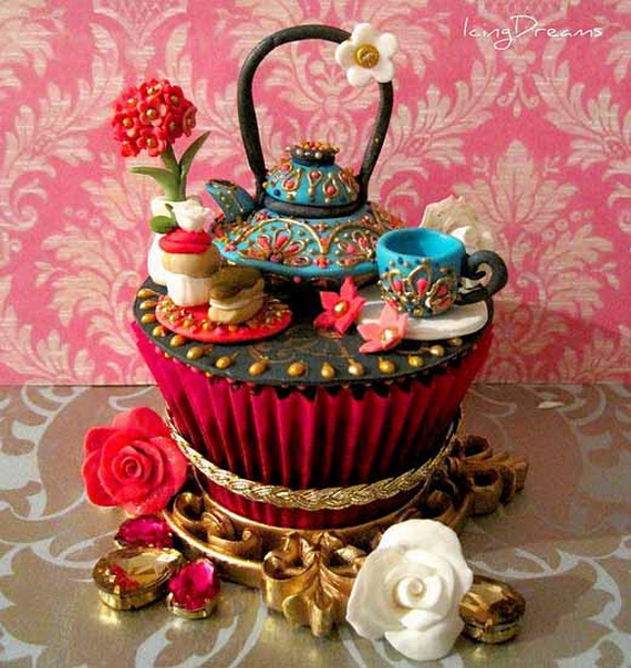 Chinese New Year Cupcake Designs for 2013 _23