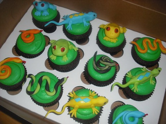 Chinese New Year Cupcake Designs for 2013 _3