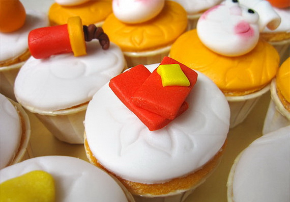 Chinese New Year Cupcake Designs for 2013 _47