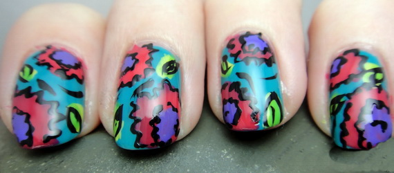 Chinese New Year Nail Art Design 2013_01