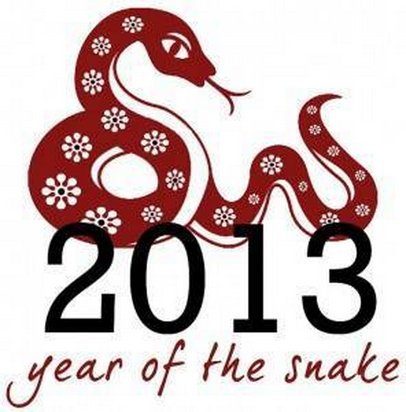 Lunar Chinese New Year 2013 Greetings Holiday Cards Year of the Snake _18