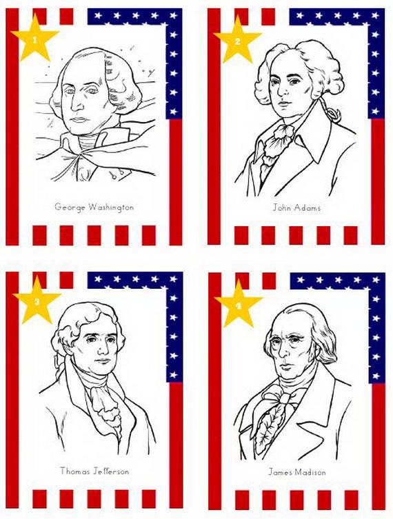 Presidents' Day- Patriotic- Crafts _12