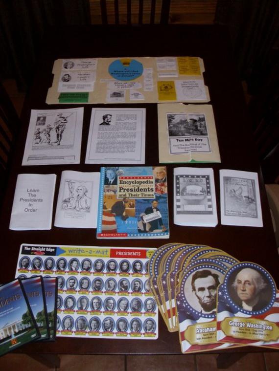 Presidents' Day- Patriotic- Crafts _13