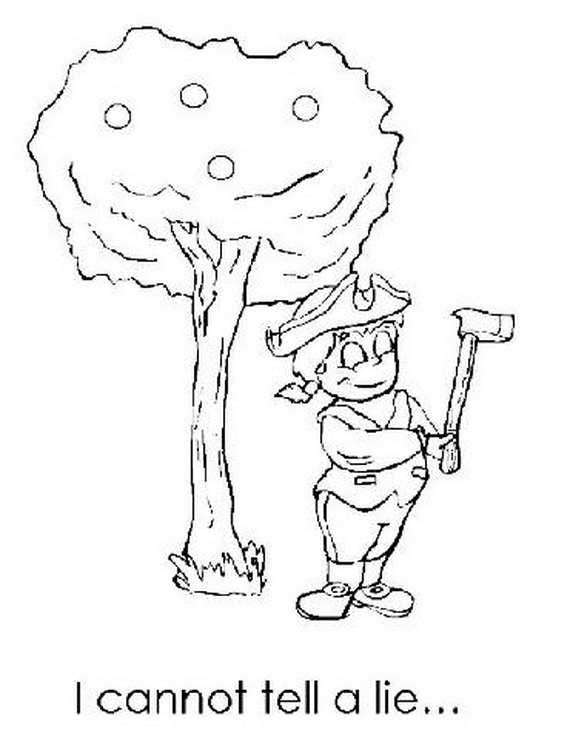 George Washington S Cherry Tree For Kids