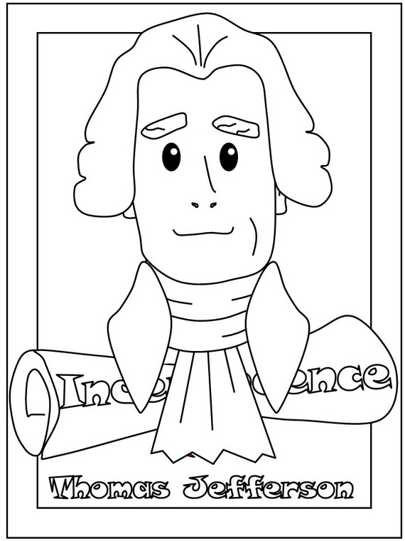 Presidents Day Coloring Pages and Pintables for Kids family