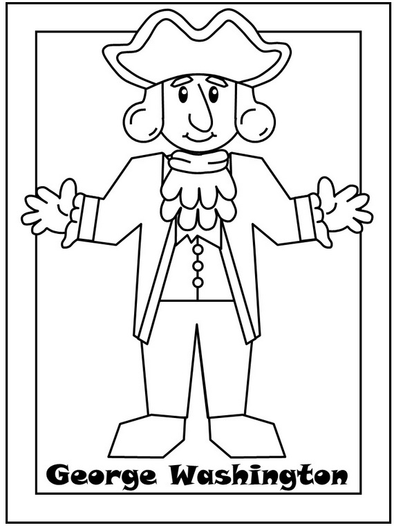 presidents day coloring page - president 39 s day coloring pages and pintables for kids