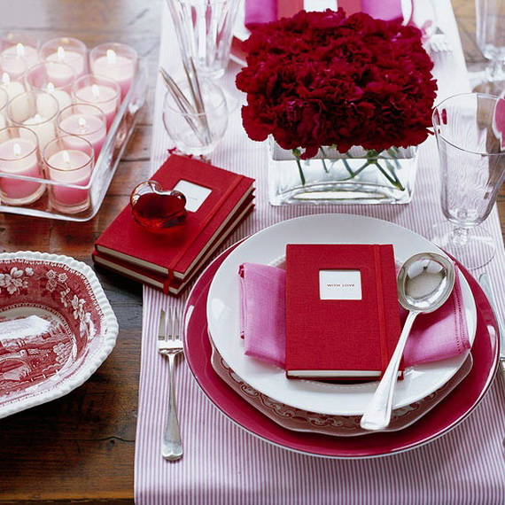 Romantic table decorating ideas for valentine 39 s day for Romantic dinner recipes for two at home