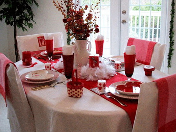 Unique Elegant and Impressive Romantic Valentines Day  : Romantic ValentineE28099s Day Table Settings17 from www.familyholiday.net size 570 x 428 jpeg 97kB