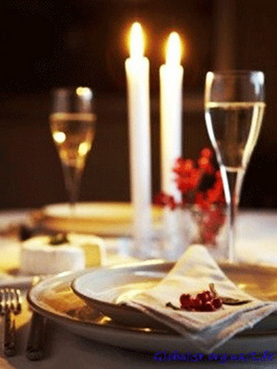 Unique elegant and impressive romantic valentine s day for Romantic dinner