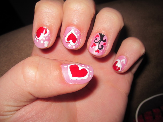 Valentine's Day Nail Designs_19