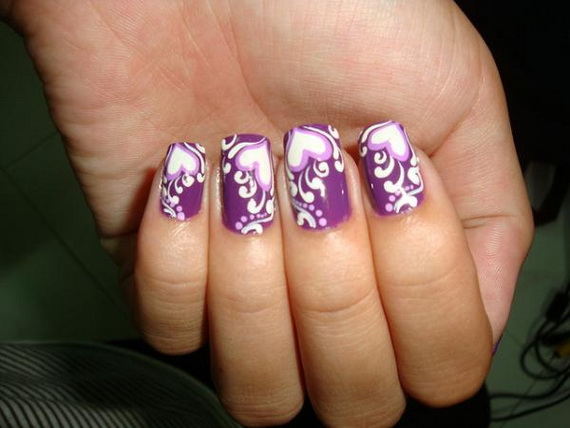 Valentine's Day Nail Designs_40