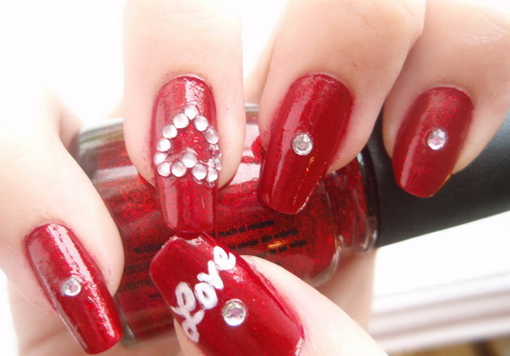 Valentine's Day Nail Designs_45