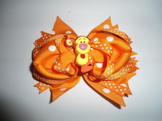 Winnie the Pooh Elegant Hair Bows For Girls _18