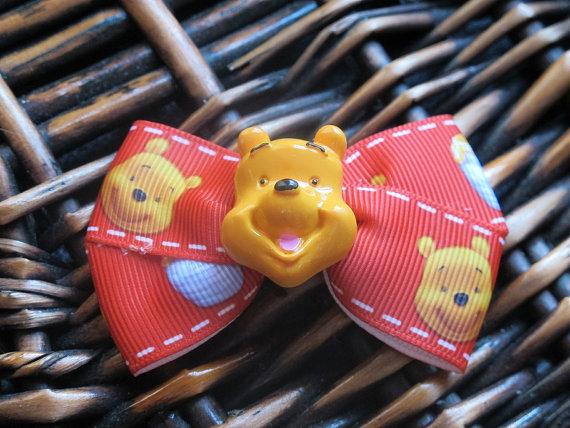 Winnie the Pooh Elegant Hair Bows For Girls _26