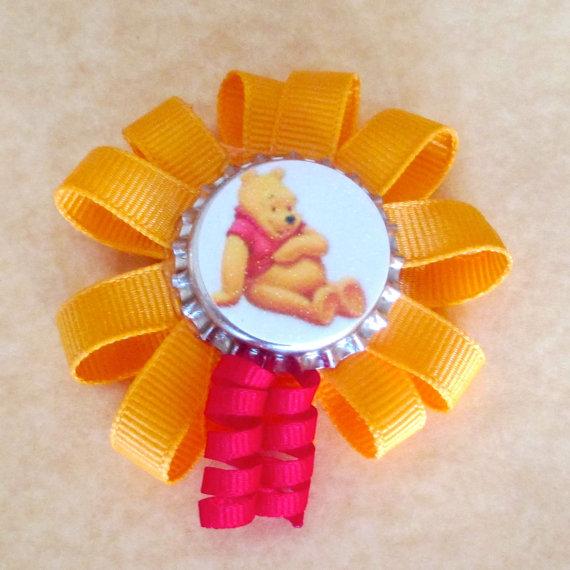 Winnie the Pooh Elegant Hair Bows For Girls _31