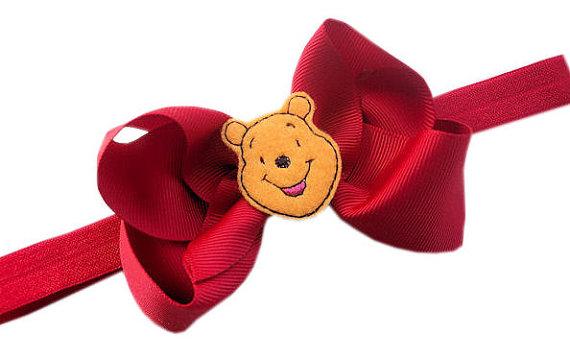 Winnie the Pooh Elegant Hair Bows For Girls _32