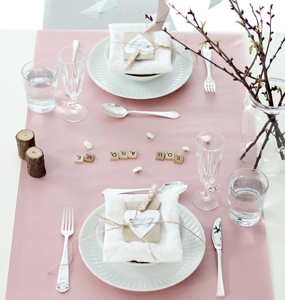 60-Cool -and -Beautiful- Valentine- Table -Decorating- Ideas _24