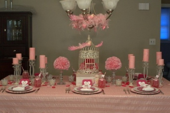 60-Cool -and -Beautiful- Valentine- Table -Decorating- Ideas _39