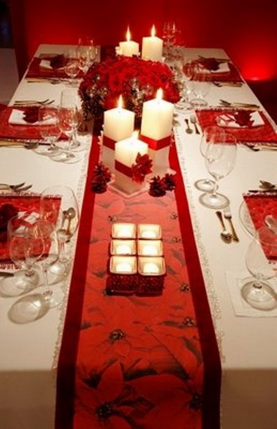 60 Cool  And  Beautiful  Valentine  Table  Decorating  Ideas _48
