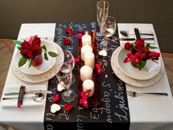 60-Cool -and -Beautiful- Valentine- Table -Decorating- Ideas _51