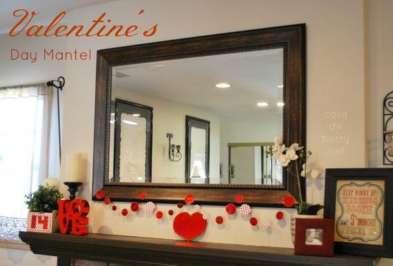 65 -Gorgeous- Valentine's- Day- Mantel- Décor- Ideas_02