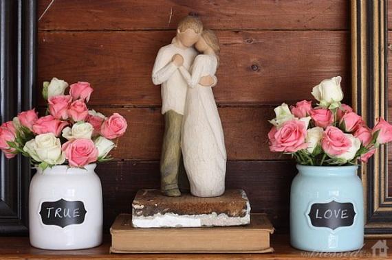 65 -Gorgeous- Valentine's- Day- Mantel- Décor- Ideas_21