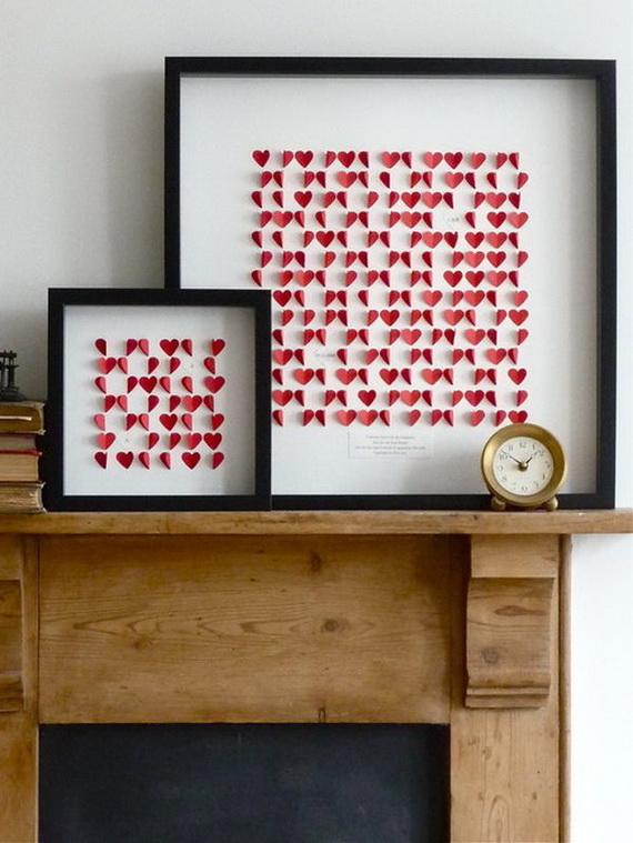 65 -Gorgeous- Valentine's- Day- Mantel- Décor- Ideas_37
